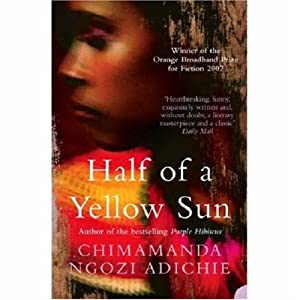 """Cover of """"Half of a Yellow Sun"""""""