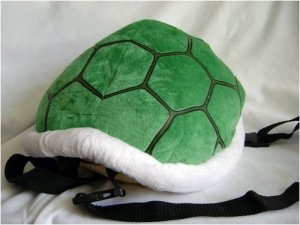 Mario Bros.: Koopa Shell Plush and Backpack - 16 inches diameter