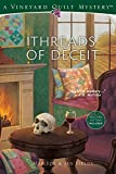 Threads of Deceit (Vineyard Quilt Mysteries Book 1)