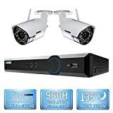 Lorex 4 Channel Wireless Security System - 2 Cameras, Night Vision
