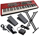 Nord Stage 2 76-Key Stage Piano ESSENTIALS BUNDLE w/ Stand & Pedals