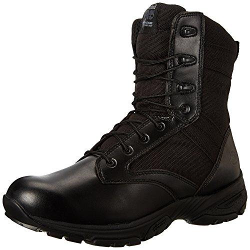 6a992e02e2f Timberland PRO Men's 8 Inch Valor Soft Toe Black Duty Boot,Black ...