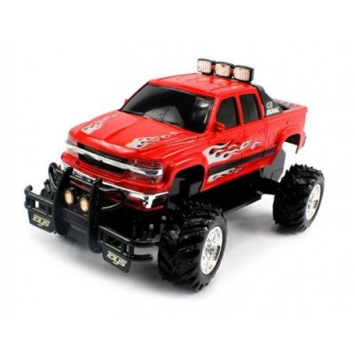 Electric-Full-Function-Chevy-Silverado-4X4-Off-Road-Monster-RTR-RC-Truck-Remote-Control-w-Rechargeable-Batteries-Colors-May-Vary-by-Velocity-Toys