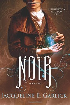 Noir (The Illumination Paradox) by Jacqueline E. Garlick| wearewordnerds.com