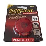 Blinklicht-Reflektor mit LED, bis 300 m sichtbar