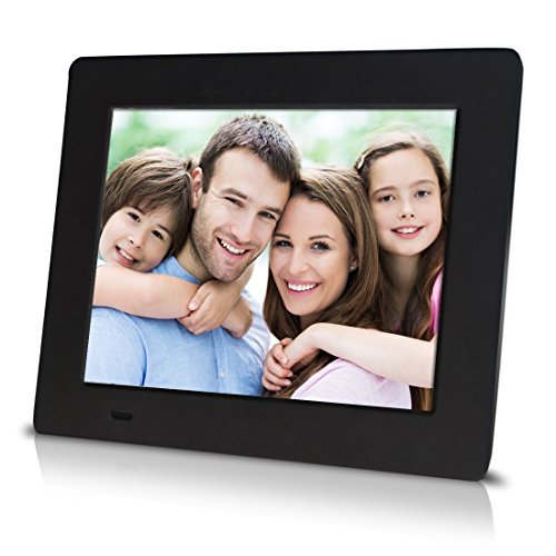 """Sungale PF709 - 7 inch Digital Photo Frame with 0.3"""" Ultra-slim Design, High Definition LCD Screen"""