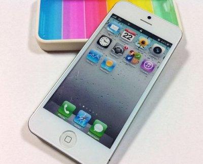 iPhone 5 展示用 モック アップ 画面表示有り版 (White/ホワイト) [エレクトロニクス] [エレクトロニクス] [エレクトロニクス]
