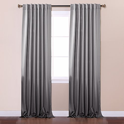 Best home fashion thermal insulated blackout curtains for Thermal windows prices