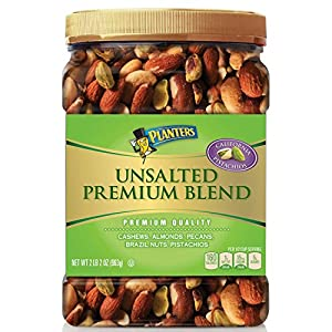 Amazoncom Planters Unsalted Premium Quality Blend Nuts
