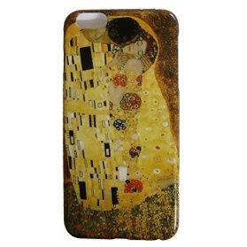 クリムト 接吻 スマートフォン カバー スマホ ケース iPhone6 Plus