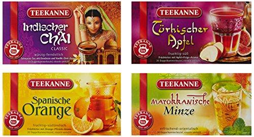 Teekanne Ländertee-Genuss-Set, 1er Pack (1 x 181 g)