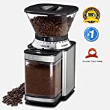 Paksh / Cuisinart DBM-8 Supreme Automatic Burr Mill Conical Coffee Grinder • Grinds Coffee Beans, Spices, Nuts and Grains • Durable Brushed Stainless Steel