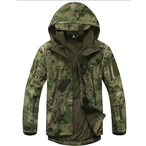 Waterproof Military Tactical Combat Softshell Jacket Outdoor ...