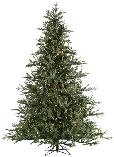 Realistic artificial christmas tree just another