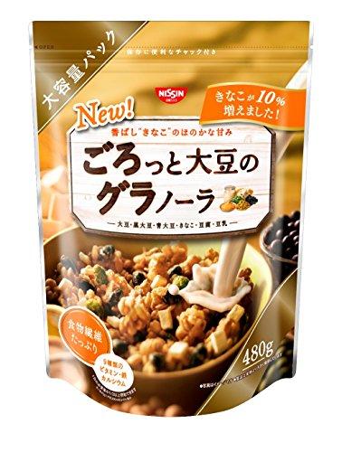 日清シスコ ごろっと大豆のグラノーラ 480g×6袋