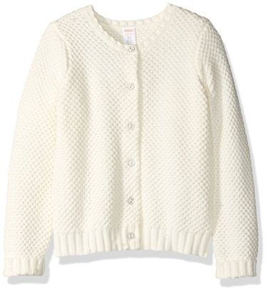 Gymboree-Girls-Big-Girls-Long-Sleeve-Ivory-Button-up-Sweater-Snow-Bunny-S
