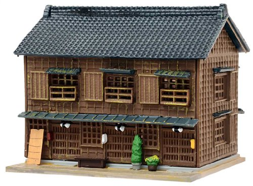 建物コレクション 建コレ111-2 木造長屋・角の雑貨店2