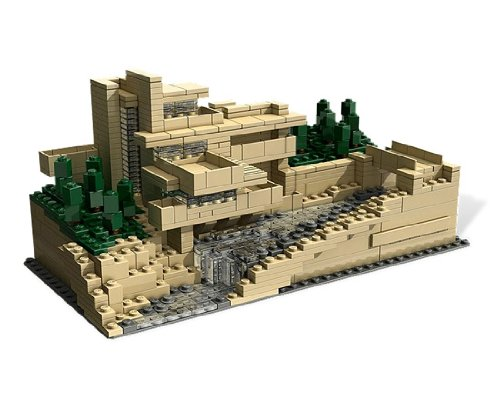 LEGO Falling Water
