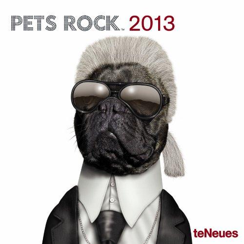 2013 Pets Rock Mini Grid Calendar