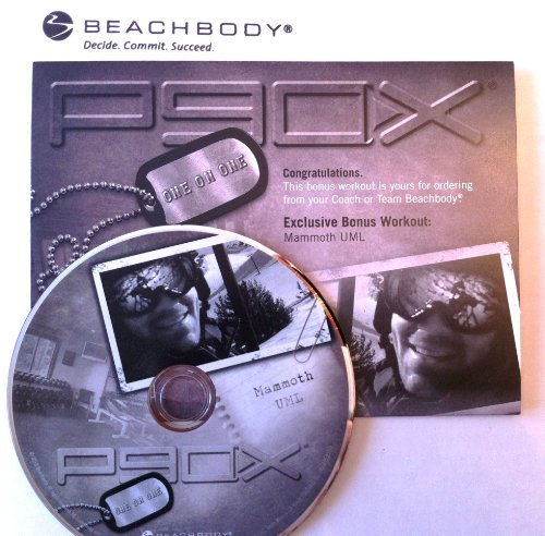 P90X ONE on ONE with Tony Horton: Mammoth UML workout DVD