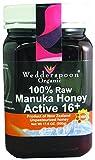 Wedderspoon Organic - Manuka Honey 100% Raw Organic Unpasteurized Active 16+ - 17.6 oz. ( Multi-Pack)