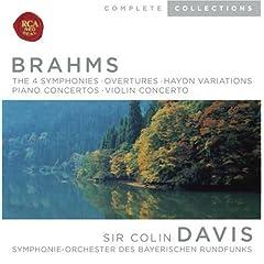 Brahms: The 4 Symphonies: Overtures; Haydn Variations; Piano Concertos; Violin Concerto