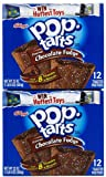 Kellogg's Pop-Tarts Toaster Pastries - Frosted Chocolate Fudge - 22 oz - 12 ct - 2 pk