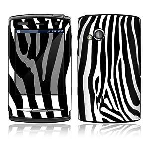 Zebra Print Design Protective Skin Decal Sticker for Sony Ericsson Xperia X10 Mini PRO Cell Phone