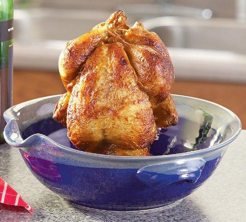 Tumbleweed Pottery Deep Dish Chicken Cooker Roasting