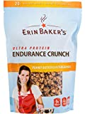 Erin Baker's Ultra Protein Endurance Crunch, Peanut Butter Cluster Granola, 12-Ounce Bags (Pack of 6) - Packaging May Vary
