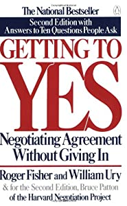 """Cover of """"Getting to Yes: Negotiating Agr..."""