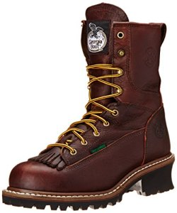 Georgia Boot Men's Loggers G7313 Work Boot,Tumbled Chocolate,12 M US