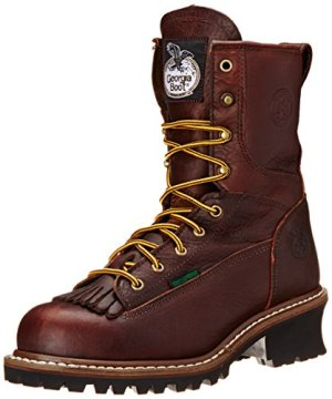 Georgia Boot Men's Loggers G7313 Work Boot,Tumbled Chocolate,8.5 M US