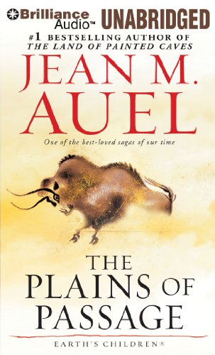Cover of The Plains of Passage (Earth's Children® Series) by Jean M. Auel