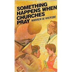 Something happens when churches pray