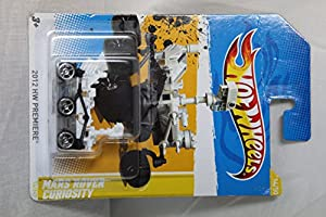 Amazoncom NASA MARS ROVER CURIOSITY 2012 Hot Wheels