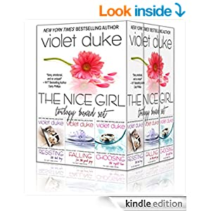 Nice Girl to Love: Trilogy Boxed Set (#1 Resisting, #2 Falling, #3 Choosing) (CAN'T RESIST)