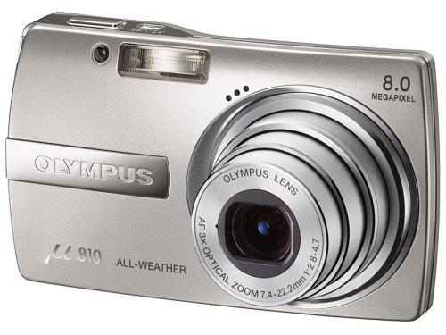 OLYMPUS デジタルカメラ μ810 (ミュー) シルバー μ810SLV