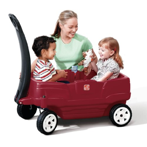 51eAKj05maL - Build a homemade kids pull wagon: Radio-Flyer style with better steering!