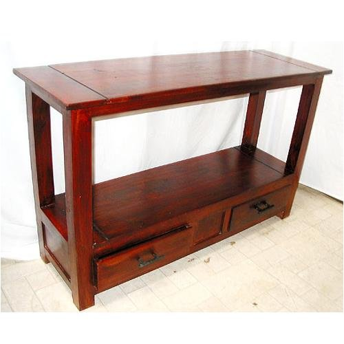 Buy Foyer Furniture : Buy low price indian rosewood cherry console hall entry