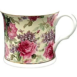 Fine Bone China Queen Elizabeth Footed Palace Mug