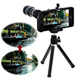 Neewer® 12X Optical Zoom Telescope Camera Lens + Tripod + Case For Apple iPhone 5 5G New