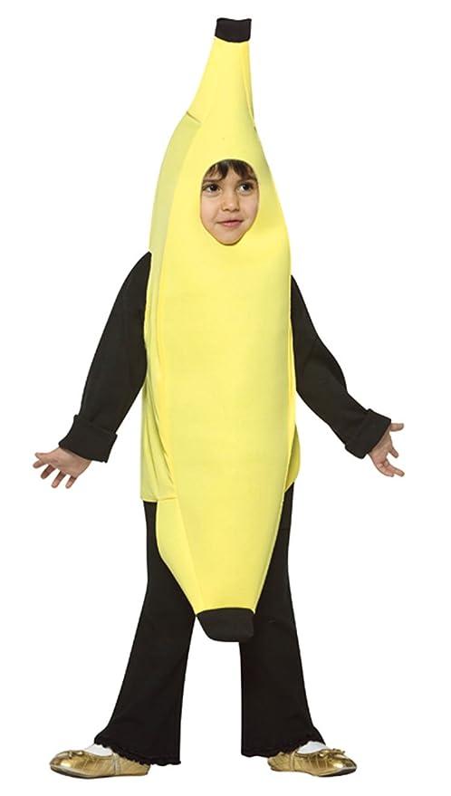 Rasta Imposta Lightweight Banana Children's Costume, 7-10, Yellow
