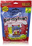 Yummy Earth Organics Gummy Bears, 7 Ounce