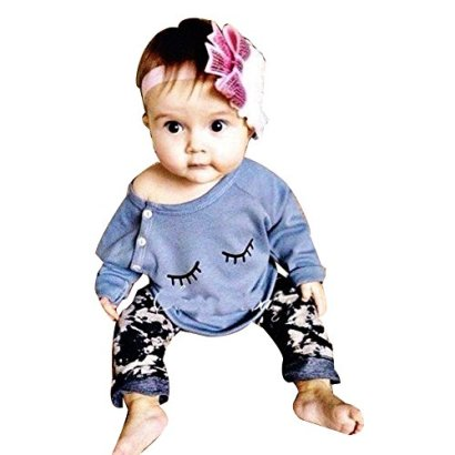 2Pcs-Newborn-Infant-Baby-Girls-Tops-Long-Sleeve-ShirtPants-Outfits-Set-Clothes-0-6-Month