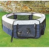 """Soft Sided Mobile Play Pet Pen Size: Small (15.5"""" H x 35.25"""" W x 35.25"""" L)"""
