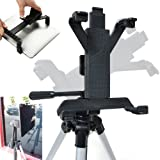 Accessory Basics Tablet Tripod Mount for Apple iPad 2 3 4 Air Mini Samsung Galaxy Tab Microsoft Surface Asus VivoTab 7