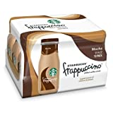 Starbucks Coffee Frappuccino Coffee Drink Mocha, 9.5 Ounce Bottles Total (24 Pack)