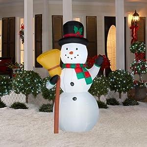 Amazon.com : CHRISTMAS DECORATION LAWN YARD INFLATABLE ... on Backyard Decorations Amazon id=61174