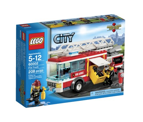 LEGO Building Toys for 5 Year Old Boys - Fire Truck